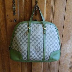 Gucci Bags - Gucci canvas top handle bag